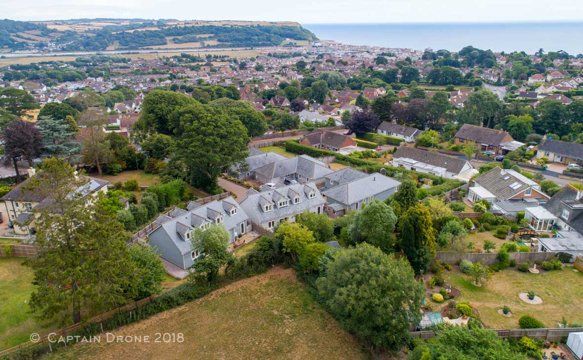 Aerial Property Photography In Devon By Captain Drone