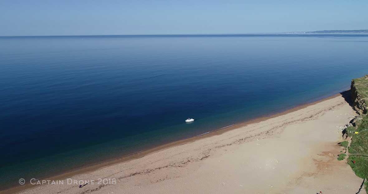 A boat at Hive Beach