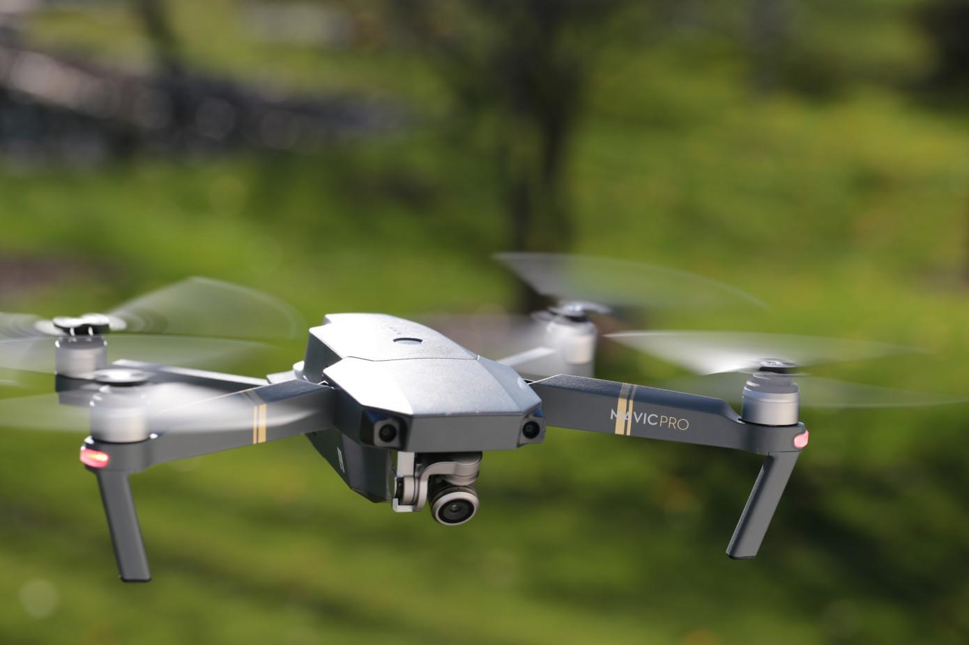 A DJI Mavic Drone
