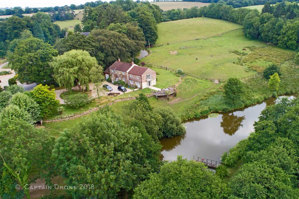 Hooke House - Aerial Property Photography