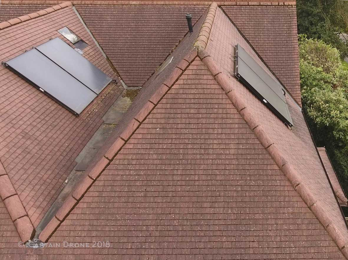 Roof Survey By Captain Drone
