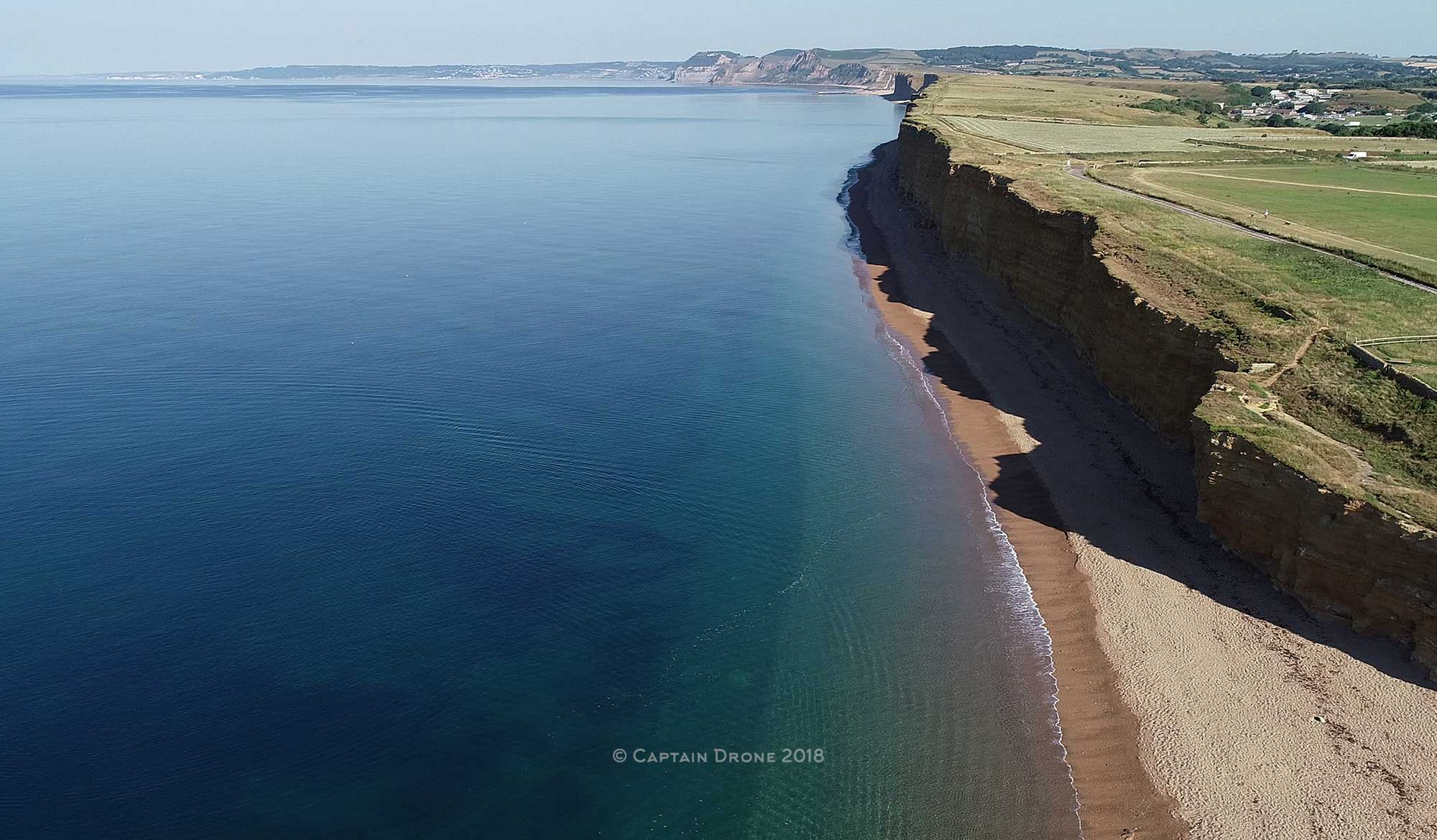 West Dorset Coastal aerial photography by Captain Drone