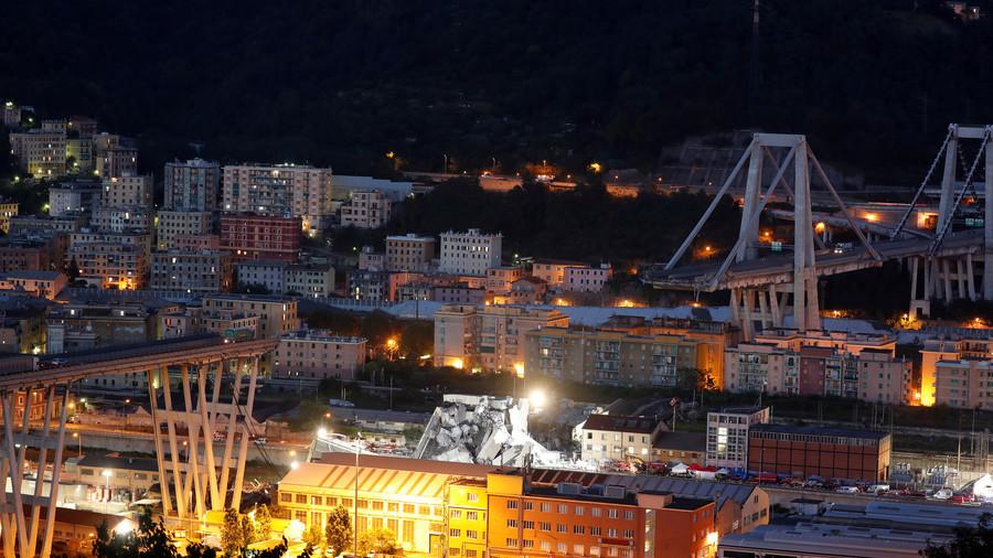 Drone Technology Reveals The Extent Of The Genoa Bridge Collapse…